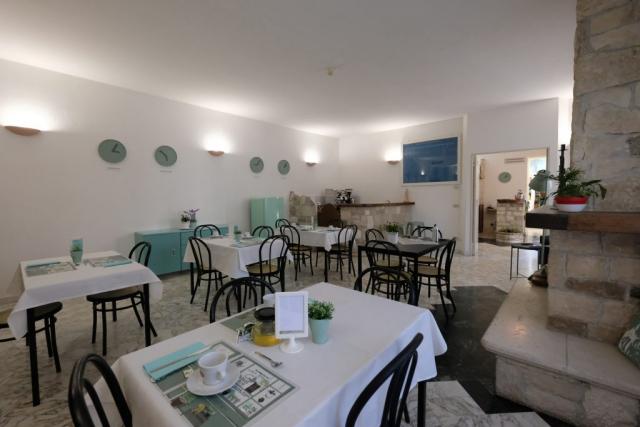 Sala colazioni Hotel Pescofalcone