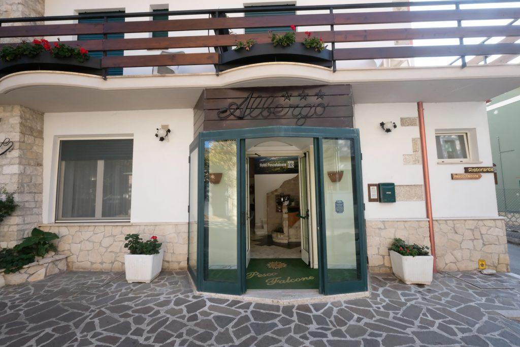 Esterno Hotel Pescofalcone