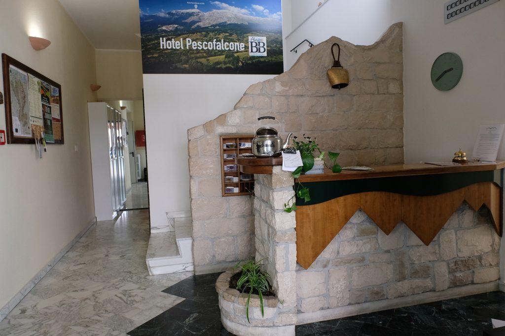 Interno Hotel B&B Pescofalcone